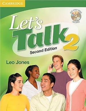 Let's Talk 2 [With CD (Audio)] (Mixed: Jones, Leo