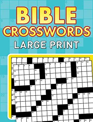 Bible Crosswords: Large Print (Paperback or Softback): Compiled by Barbour