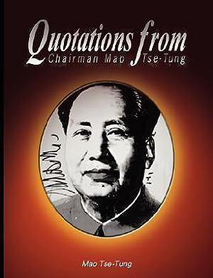 Quotations from Chairman Mao Tse-Tung (Paperback or: Tse-Tung, Mao