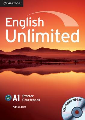 English Unlimited Starter Coursebook with E-Portfolio, A1: Doff, Adrian