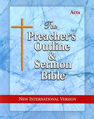 Preacher's Outline & Sermon Bible-NIV-Acts (Paperback or: Worldwide, Leadership Ministries