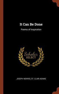 it can be done poems of inspiration - AbeBooks
