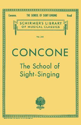 School of Sight-Singing: Voice Technique (Paperback or: Concone, Joseph