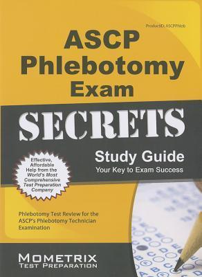 9781630940096 ASCP Phlebotomy Exam Secrets Study Guide