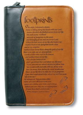 Footprints Bible Cover: Medium: Powers, Margaret Fishback