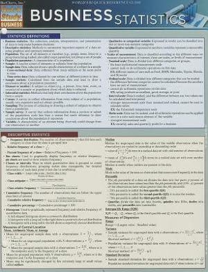 Business Statistics (Poster): Behara, Ravi