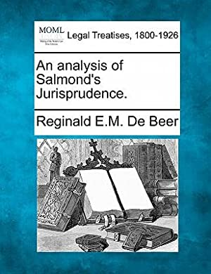 An Analysis of Salmond's Jurisprudence. (Paperback or: De Beer, Reginald