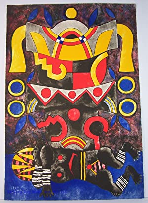 Trece Poetas Del Mundo Azteca (Folio with Original Lithograph): Leon Portilla, Miguel; Maciel, ...