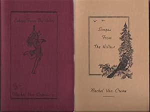 Songs from the Hills and Echoes From the Valley (two volumes): Van Creme, Rachel