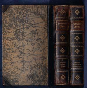 Hölderlins Werke.: Kritisch durchgesehene und erläuterte Ausgabe (Two Volumes complete): ...