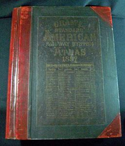 Cram's Standard American Railway System Atlas of the World