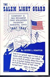 The Salem Light Guard: Company G 36th: Kempfer, Lester L.