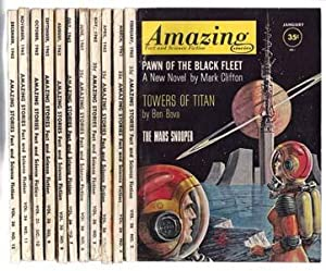 Amazing Stories Fact and Science Fiction (Twelve Issues, Jan Thru Dec 1962) Vol. 36 No. 1-12
