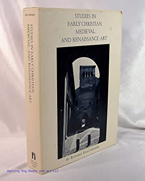 Studies in Early Christian, Medieval and Renaissance Art