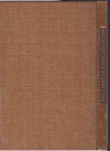 Lyrics of Francois Villon: Villon, Francois