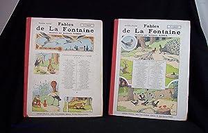 Fables De La Fontaine (Two Volumes): Jean de La