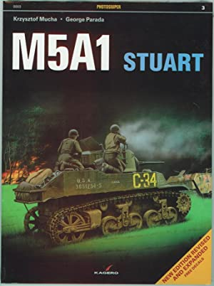 M5A1 Stuart US Light Tank (free decals included): Mucha, Krzysztof; Parada, George
