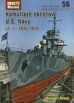 CAMOUFLAGE OF US NAVY SHIPS IN WWII.: Nowak, Grzegorz