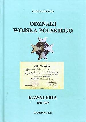 ODZNAKI WOJSKA POLSKIEGO. KAWALERIA 1921-1939 (BREAST BADGES: Sawicki, Zdzislaw