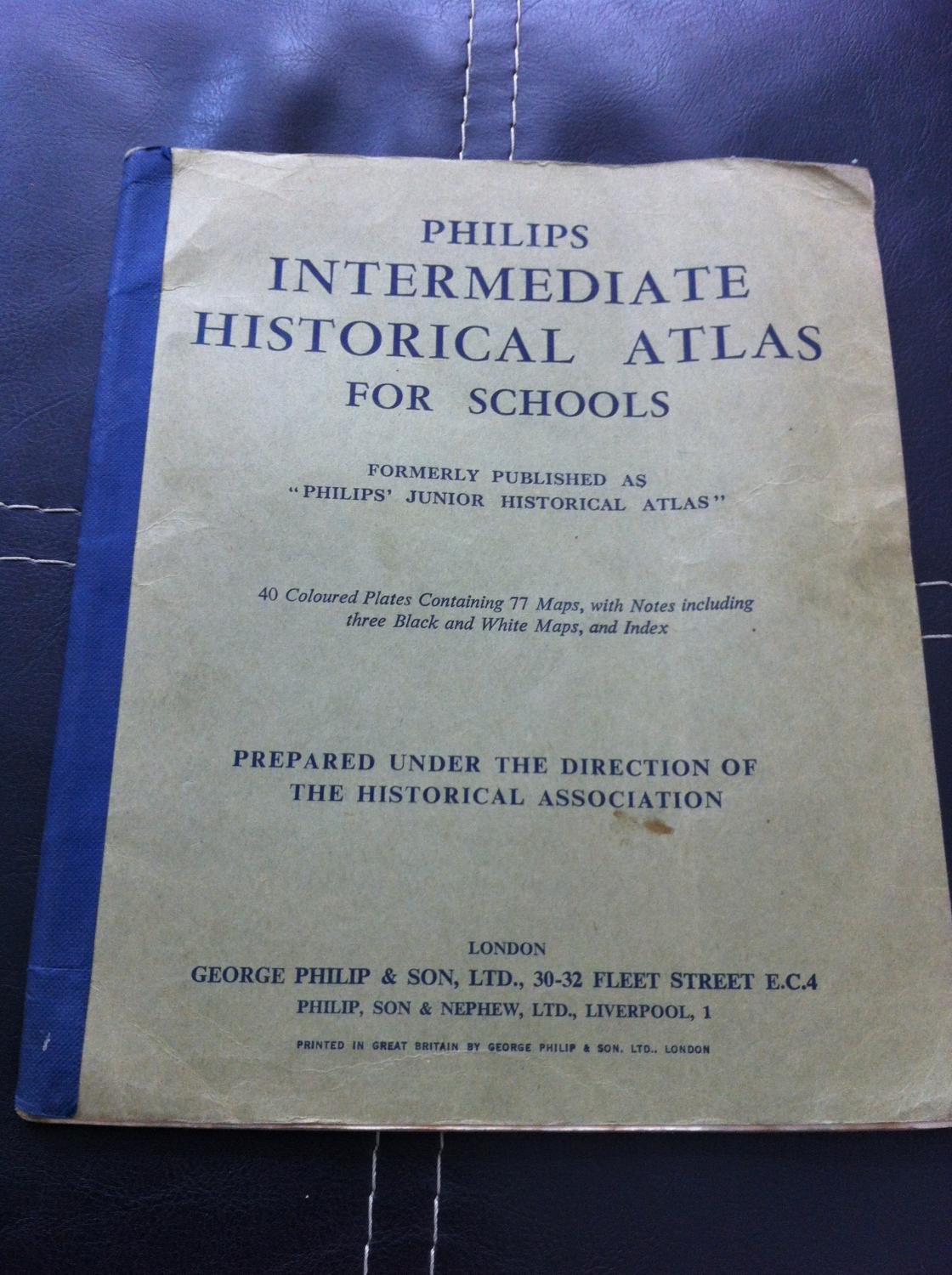 Philips' New Historical Atlas for Students