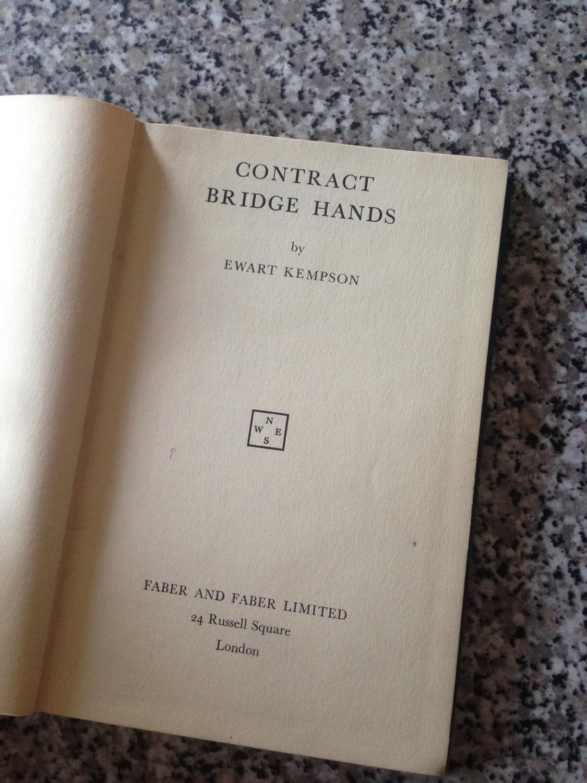 Contract Bridge Hands