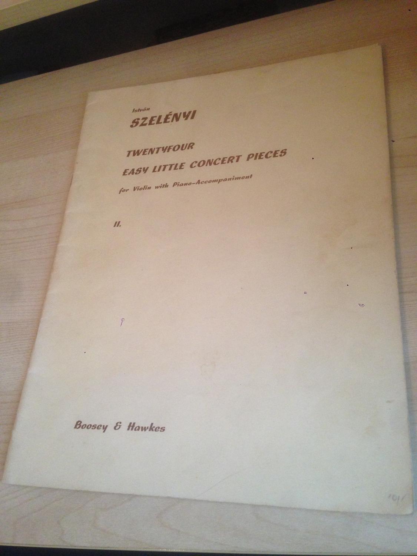 Szelényi: 24 Easy Little Concert Pieces
