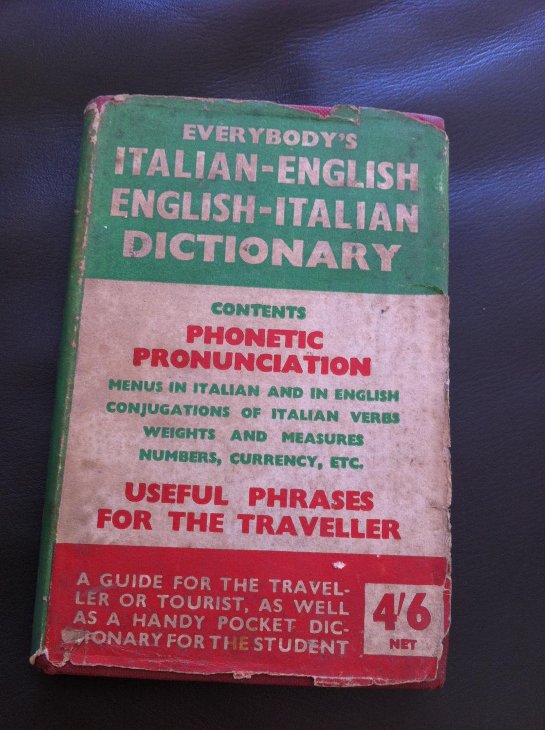 Everybody's Italian-English English-Italian