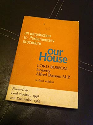 Our House - An Introduction to Parliamentary Procedure