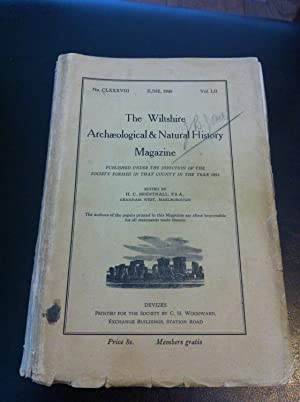 The Wiltshire Archaeological and Natural History Magazine: H.C. Brentnall (editor)