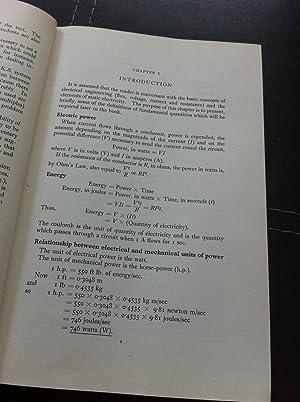 Electric-circuit Theory: F.A. Benson, D. Harrison