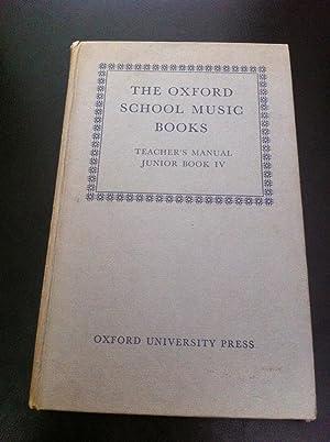 The Oxford School Music Books: Teacher's Manual,: Dobbs, J. P.