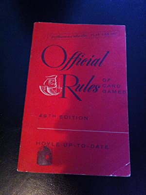 The official rules of card games: Morehead, Albert H