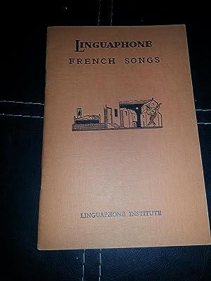 Linguaphone French Songs: Institute, Linguaphone