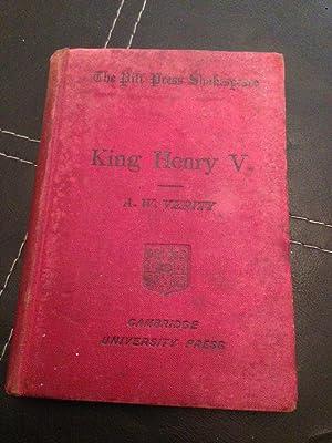 King Henry V: A. W. Verity