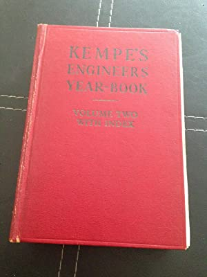 Kempe's Engineers Year-Book For 1975 - 80th: Prockter, C.E. (editor)