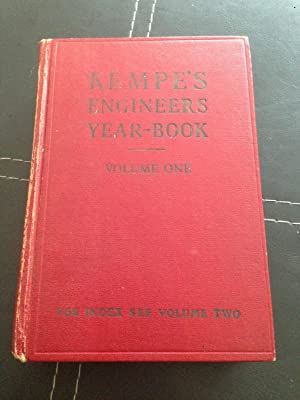 Kempe's Engineers Year-Book For 1975: Vol.II: Prockter