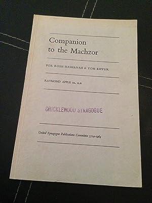 Companion to the Machzor: For Rosh Hashanah: Apple, Raymond