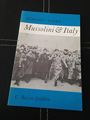 Mussolini and Italy (Modern Times): Jardine, C. C.
