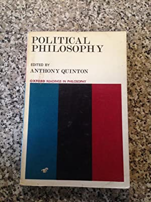 Political philosophy; (Oxford readings in philosophy)