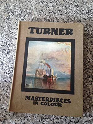 TURNER FIVE LETTERS AND A POSTSCRIPT (MASTERPIECES: HIND, C. LEWIS