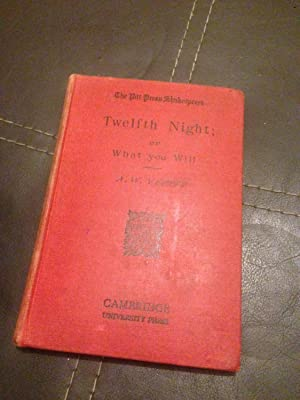 TWELFTH NIGHT; OR WHAT YOU WILL (PITT: SPAKESPEARE WILLIAM, VERITY