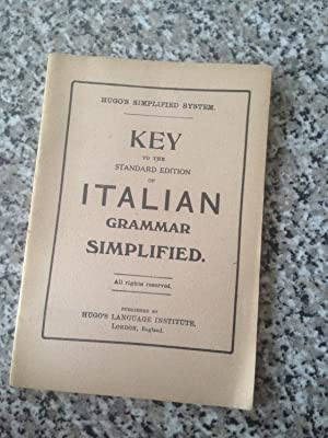 Key To The Standard Edition Of Italian