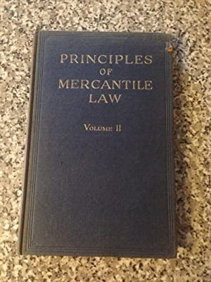 Principles of Mercantile Law Volume II: French, Chance &