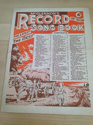 McGlennon ?s Record Song Book 159th Edition: McGlennon, Felix