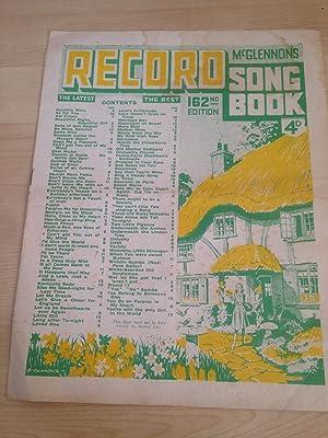 McGlennon ?s Record Song Book 162nd Edition: McGlennon, Felix
