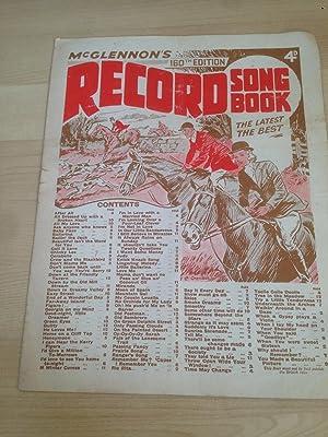 McGlennon ?s Record Song Book 160th Edition: McGlennon, Felix