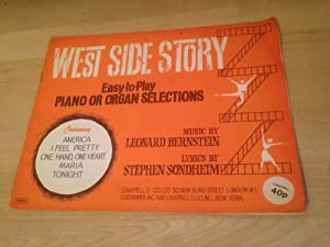 West Side Story Easy To Play Piano: Leonard Bernstein (music);