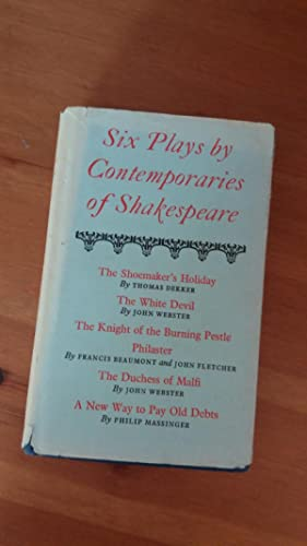 Six plays by contemporaries of Shakespeare, (The: Wheeler, C. B