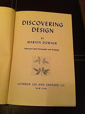 Discovering Design: Downer, Marion