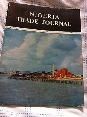 Nigeria Trade Journal - Vol 4 -: Author, No Stated